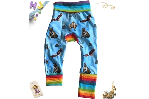 Click to order Age 1-4 Grow with Me Pants Wild and Free now