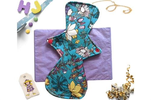 Click to order  11 inch Cloth Pad Wildflowers now