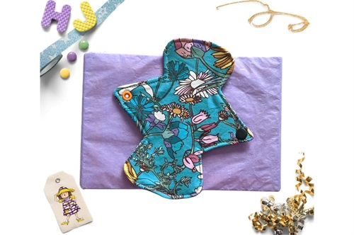 Click to order  7 inch Cloth Pad Wildflowers now