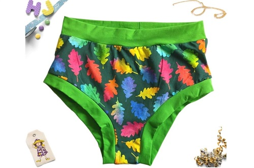 Click to order XL Briefs Rainbow Leaves now