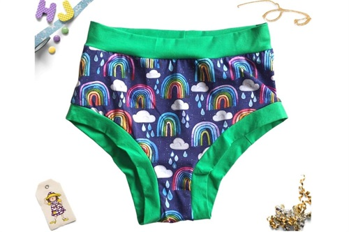 Click to order XL Briefs Rainbows and Raindrops now