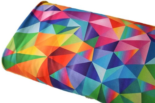Click to order custom made items in the Acute Rainbow fabric