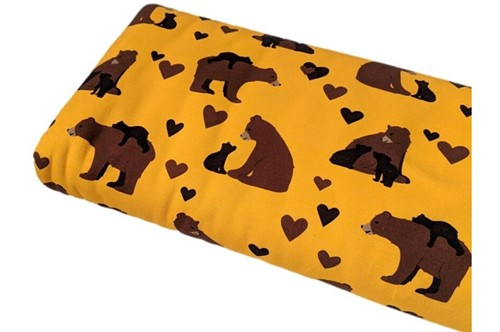 Click to order custom made items in the Bear Hugs fabric
