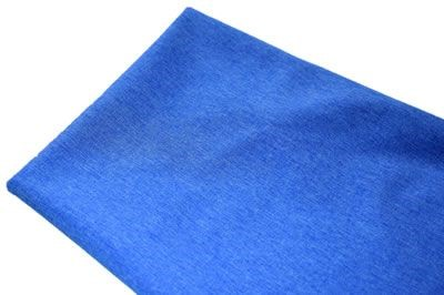 Click to order custom made items in the Blue Melange Softshell fabric