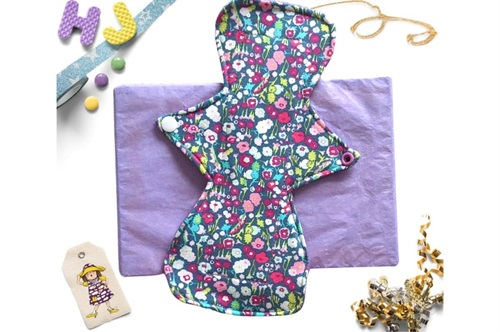 Click to order  11 inch Cloth Pad Brightly Bloom now