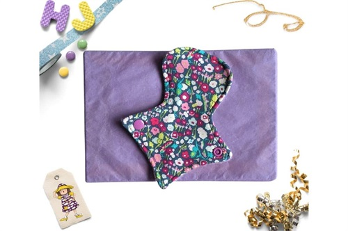 Click to order  7 inch Thong Liner Cloth Pad Brightly Bloom now