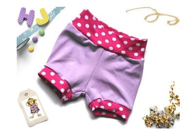 Click to order 0-3m Cuff Pants Lilac now