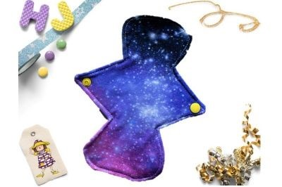 Click to order  8 inch Cloth Pad Cosmic Dreams now