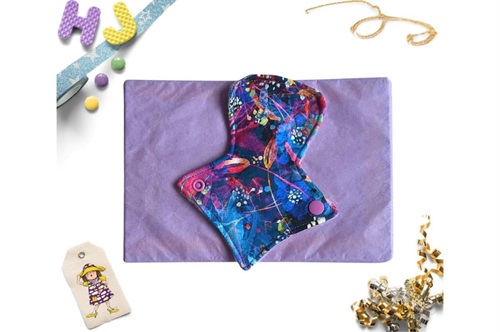 Click to order  7 inch Thong Liner Cloth Pad Firefly Nights now
