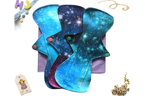 Click to order custom made Cloth Pads - Galaxy Bundle