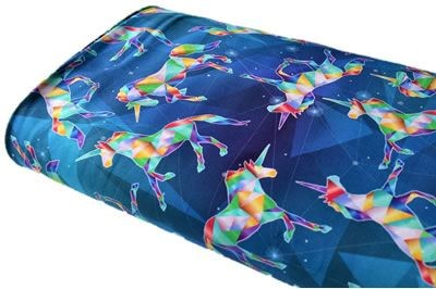 Click to order custom made items in the Geo Unicorns fabric