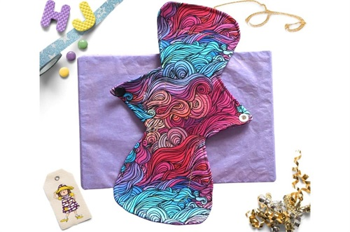 Click to order  10 inch Cloth Pad Mermaid Hair now
