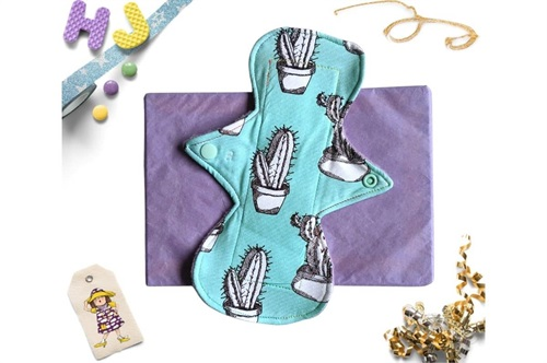 Click to order  9 inch Cloth Pad Mint Cacti now