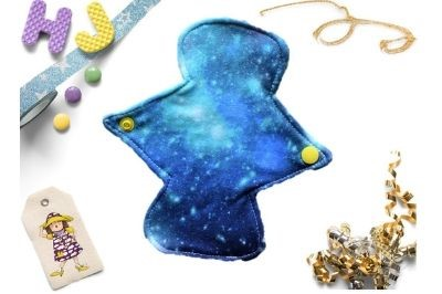 Click to order  8 inch Cloth Pad Ocean Nebula now
