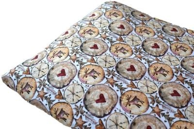 Click to order custom made items in the Scandi Reindeer fabric