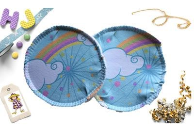 Click to order custom made Surprise Fabric Breast Pads