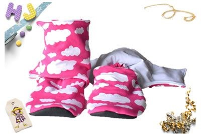 Click to order custom made Hidden Fleece Stay on Booties