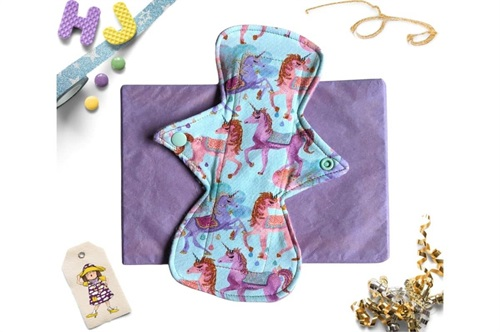 Click to order  9 inch Cloth Pad Unicorn Drops Light now