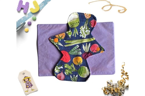 Click to order  8 inch Cloth Pad Vegetables now
