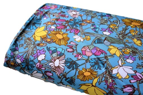 Click to order custom made items in the Wildflowers fabric